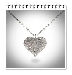 Sterling Silver Heart Necklaces For Women: HOT Designs!   Top Jewelry Brands, Designs & Online Jewellery Stores