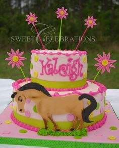 Cowgirl Tea Party — Childrens Birthday Cakes