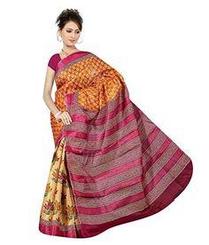 Monalisa Fabrics Saree (10487889_Multi ) Monalisa fabrics http://www.amazon.in/dp/B00ZCJUXAG/ref=cm_sw_r_pi_dp_5v8Evb13S7SXY