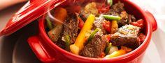 Une recette gourmande et colorée à découvrir : la marmite de boeuf aux légumes et aux herbes de Provence ! un régal !