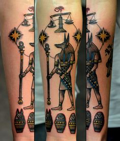 Anubius, I think.. either way, awesome ink!!