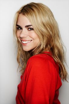 Billie Piper. Such a strong, beautiful and confident young lady, and one of my idols.