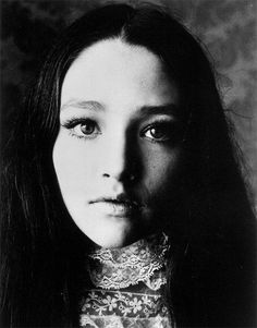 Olivia Hussey photographed for Romeo and Juliet, 1967