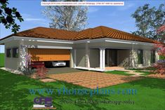 Overall Dimensions- x mBathrooms- 3 Car GarageArea- Square meters Tuscan House Plans, House Floor Plans, House Plans South Africa, All Design, House Design, Building Costs, Site Plans, Garage Plans, Square Meter