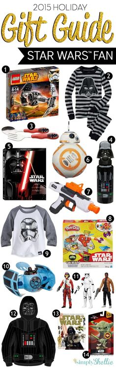 Looking for the perfect Star Wars themed gift for the little Jedi on your list, here's a run down of some of our favorite gifts for the Star Wars fan.