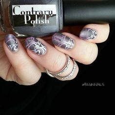 Contrary Polish When in Rome... from August 2015's A Box, Indied #nailpolish