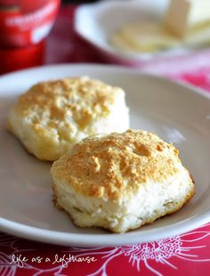 7-Up Biscuits! only 4 ingredients to make these. They melt in your mouth!