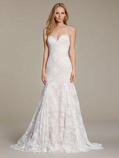 f841a48b5fa JH8608 Jim Hjelm by Hayley Paige Wedding Dress Sample Sale