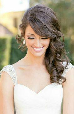 40 Gorgeous Side Swept Wedding Hairstyles | Pinterest | Side swept ...