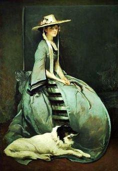 John White Alexander (American painter, 1856-1915) Aurora Leigh