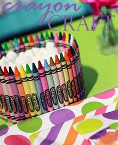 Creative and Easy Crafts With Crayons | POPSUGAR Moms