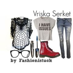 Vriska Serket by selcouth-wonderland on Polyvore