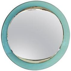 French 1970's Octagonal Mirror by Michel Pigneres For Sale at 1stdibs
