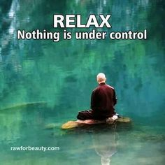 Relax! Nothing is under control...