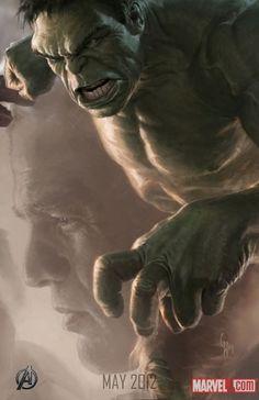 Hulk Avengers Art