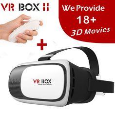 2017 vrボックスii 2.0 vr仮想現実3dメガネヘルメットgoogle段ボールヘッドセットバージョン用4.0-6.0インチスマート電話iphone