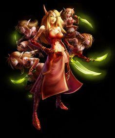 Heroes of the Storm   Valeera Sanguinar