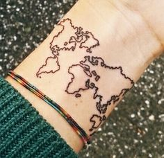 this would be cool if you put a mark or colored in everywhere you've been