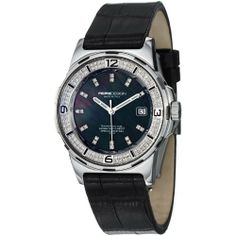 MomoDesign Pilot Diamonds Ladies Black Leather Strap Watch MD093-D-01BK-LS MOMO Design. $574.99. Save 85% Off!
