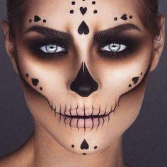 """Skull Candy"" Sugar Skull Makeup by crazy talented mua Jordan Liberty - https://www.luxury.guugles.com/skull-candy-sugar-skull-makeup-by-crazy-talented-mua-jordan-liberty/"