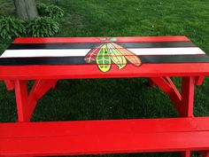 Pretty soon everything we have will have some sort of Blackhawks design :)