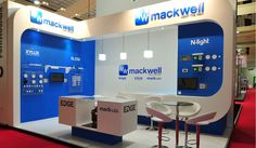 6 x 4 exhibition stand for Mackwell at Lux Live