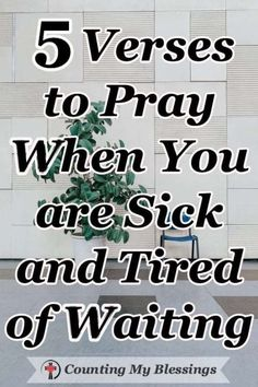 "Prayer quotes:We quickly get tired of waiting in lines, traffic, and waiting rooms. When God says ""wait"" and we don't know what that means for the future - it's hard! Bible Prayers, Bible Scriptures, Bible Teachings, Spirit Of Truth, Tired Of Waiting, All That Matters, Waiting Rooms, Prayer Quotes, Power Of Prayer"