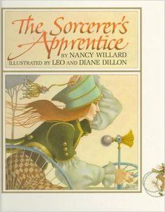 The Sorcerer's Apprentice: Nancy Willard, Leo Dillon, Diane Dillon: 9780590473293: Amazon.com: Books