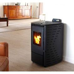 De K-Stove type 8006 #pelletkachel verwarmt een ruimte tot circa 65m². #Fireplace #Fireplaces