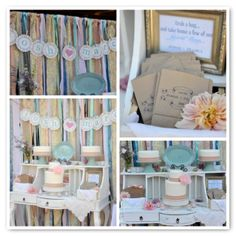 Anthropologie Inspired Guest Dessert Table   Amy Atlas Events