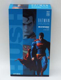 Batman Hush Superman Real Action Hero 1:6 Scale Figure NIB Statue  #DCComics