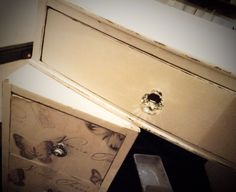 Revamped dressing table By Ashleigh Barnes