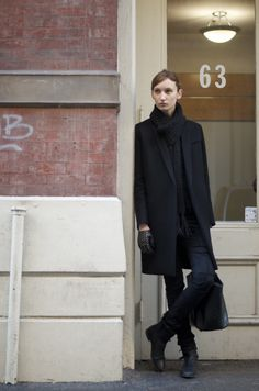 An Unknown Quantity | New York Fashion Street Style |