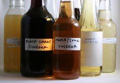 DIY vinegar - not flavoring existing vinegar, MAKING vinegar from scratch