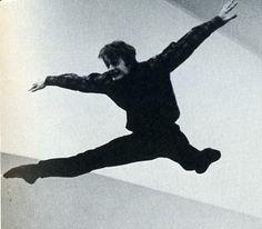 Misha's incredible jump.