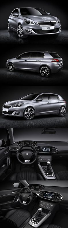 2013-2014 New Peugeot 308 sporty & innovative family car. Body in grey and interior in black. Find Peugeot 308 used spare parts here: http://bartebben.com/map/used-car-parts/peugeot-308.html of kijk hier voor gebruikte onderdelen: http://bartebben.nl/map/gebruikte-onderdelen/peugeot-308.html Gebrauchte Ersatzteile: http://bartebben.de/map/gebrauchte-ersatzteile/peugeot-308.html
