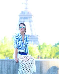 Look do dia: Tarde relax em Paris