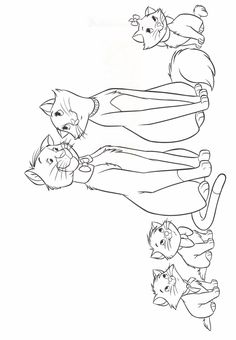 aristocats coloring pages - Google-søgning