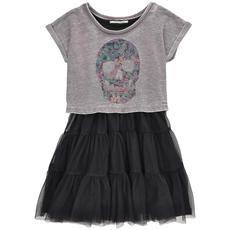 DDP - Flounced dress and faded sweatshirt - 122617