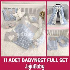 Jaju Baby Babynest 11 Piece Full Set  Price: 146.00 & FREE Shipping  #babycare Nursing Apron, Breastfeeding Pillow, Cloud Pillow, Stroller Cover, Baby Nest, Cotton Blankets, Baby Play, Full Set, Baby Sleep