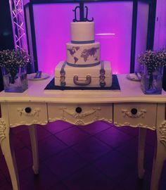 Bolo de casamento_wedding cake_travel theme