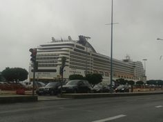 #Cruise in #Lisbon Port from #MSC.