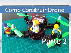 Como Construir Drone Casero Paso A Paso - Diatone Blade 150 Build Parte 2 - VideoTutoriales - MUNDO DRON
