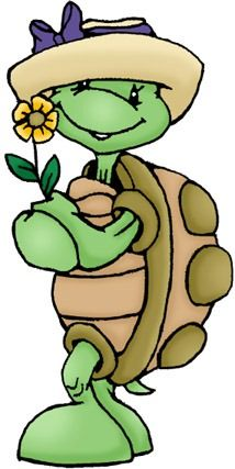 Turtle with Flower Cartoon Kunst, Cartoon Art, Cute Cartoon, Painted Rock Animals, Painted Rocks, Turtle Classroom, Frosch Illustration, Cartoon Turtle, Turtle Love