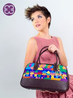 The full spectrum of colors of this bag will make you smile every time you see it!