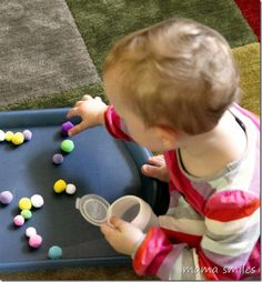 Montessori-inspired fine motor activity for toddlers