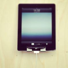 Holder for new iPad. #germanmade #holder #ipad