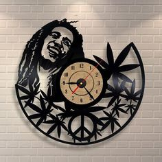 [Visit to Buy] Quartz Wall Clock Antique Style Large Decorative Wall Clocks Vinyl Record Clock Living Room Art Watch