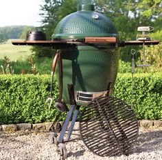 Big Green Egg Tables, Nests & Carts: Options For Every Backyard!