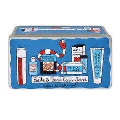 Boîte à pharmacie Maux de mâle - Derrière La Porte DLP - Boite rangement salle de bain/Armoires à Pharmacie - boite à pansements - espritlog...